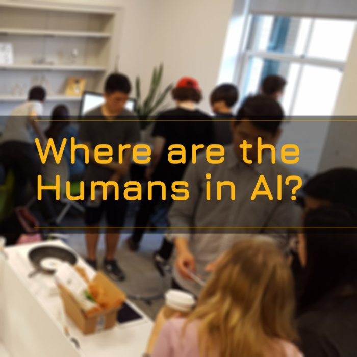 Where are the humans in AI?